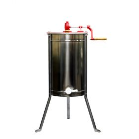 The hard part is over and you're ready to harvest! These sturdy and high-quality 100% food grade stainless steel or plastic hand crank extractors are perfect for getting every last bit of honey out of your frames. These extractors holds between two and fo