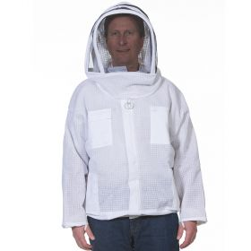 Ventilated Bee Jacket With Fencing Veil
