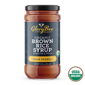 Aunt Patty's Organic Brown Rice Syrup. A rich, mildly sweet amber syrup. It is an ideal sweetener for diet and hypoallergenic foods. It has less of a characteristic flavor than most syrups or honeys, so it compliments other foods well...