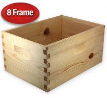 """Unassembled 9 5/8"""" Super for 8-Frame Hive"""