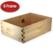 """Unassembled 6 5/8"""" Super for 8-Frame Hive"""