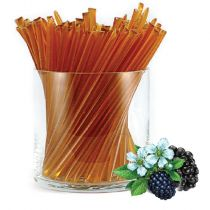 An Oregon Classic! Blackberry honey is a medium amber color, with a rich, warm sweetness and just a tiny hint of spice. Made with pure Pacific Northwest blackberry honey, with no added flavors. HoneyStix make a great all-natural treat for lunches, after-s