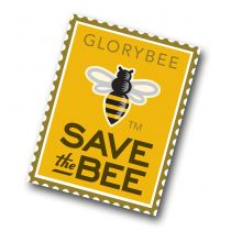 What are we saving? The bees! Show your support for our favorite pollinators with this stylish Save the Bee sticker. Measures 3x4 inches and is suitable for indoor or outdoor uses.