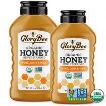 GloryBee's Pacific Northwest Clover Honey will remind you of summer year-round with its warm, malty aroma and sweet, tangy flavor reminiscent of sun-ripened raisins. Clover honey is a delicious way to sweeten your morning tea. Drizzle it in t