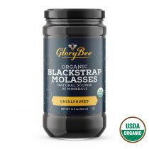 Aunt Patty's organic unsulphured blackstrap molasses is made from the final pressing of sugar cane, which results in a dark and rich tasting syrup. Traditional recipes that call for blackstrap molasses include licorice candies, barbeque sauces, gingerbrea