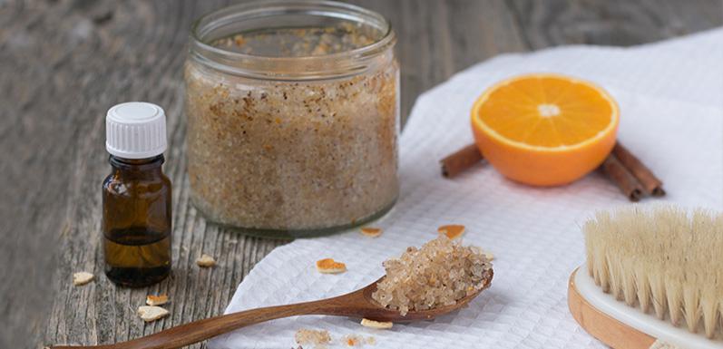 Vanilla-Orange Honey Body Polish