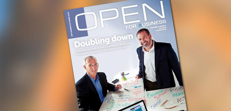 GloryBee in Open For Business Magazine