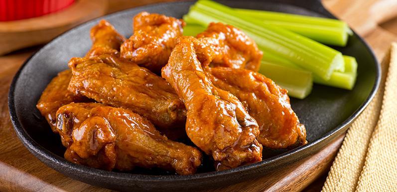 Baked Tamarind-Honey Chicken Wings