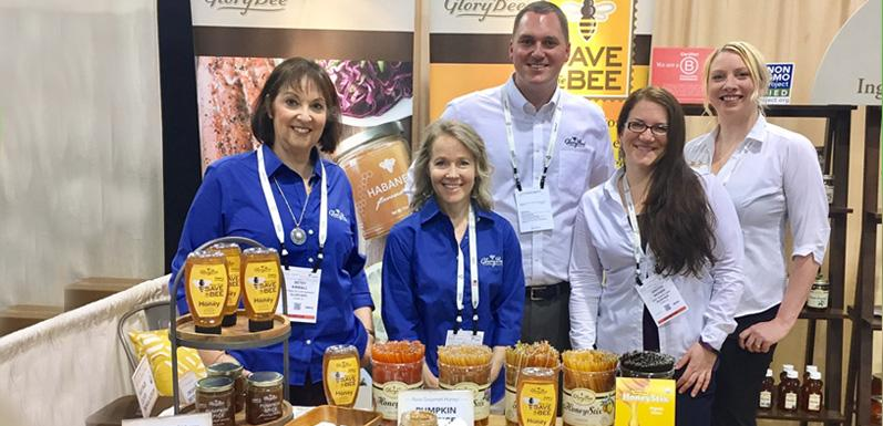 GloryBee Samples New Products at Expo West